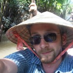 On the Mekong delta in Vietnam