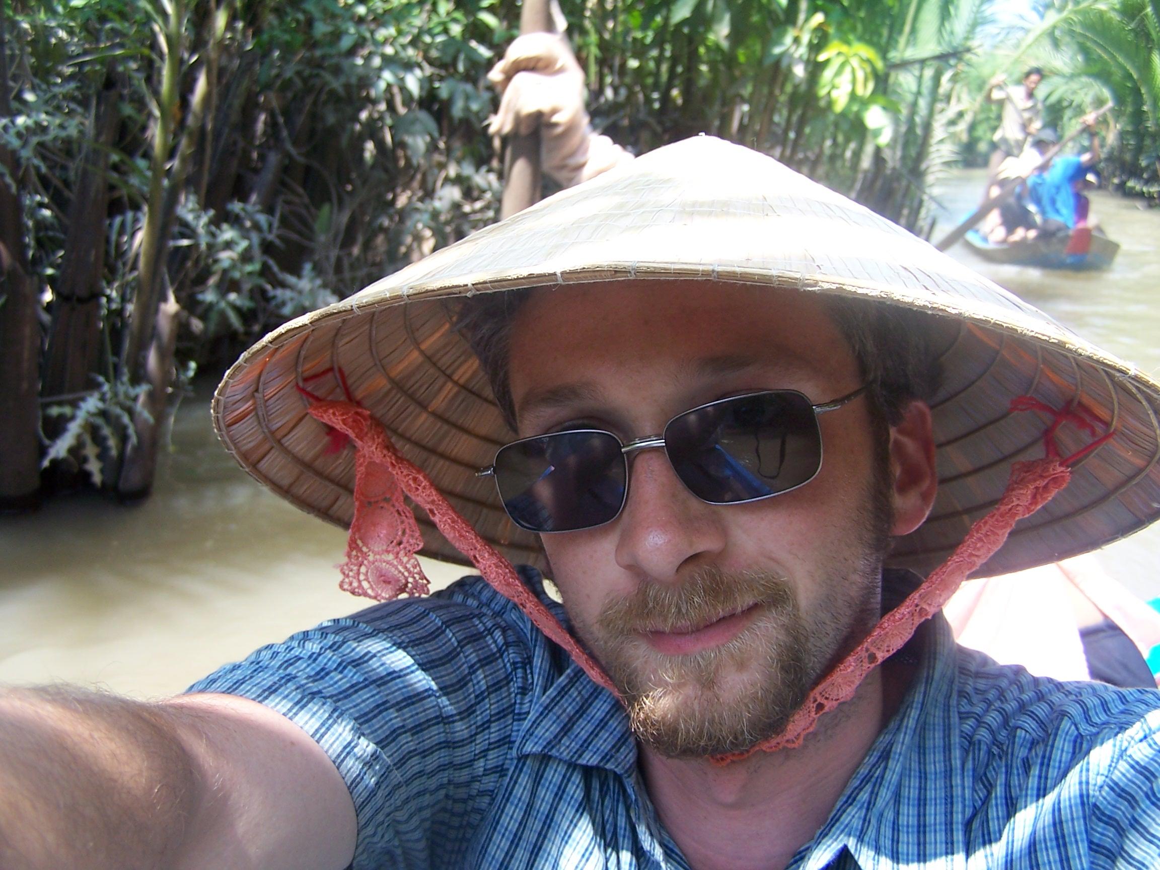 On the Mekong delta in Vietnam